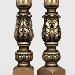 3D baluster classic