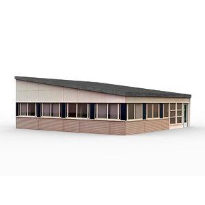 office building 8 3D model