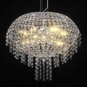 700090 classic lightstar chandelier 3D model