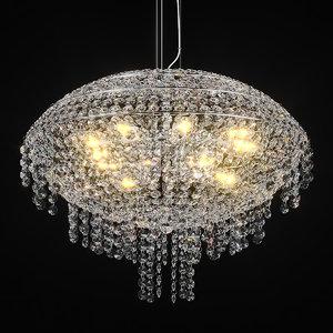 3D 700120 classic lightstar chandelier model