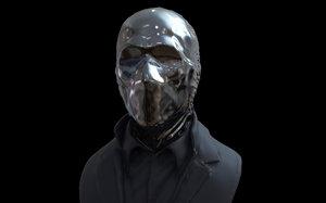 looking glass watchmen - 3D model