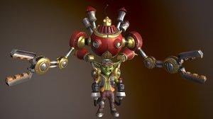 3D character gazlowe