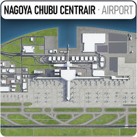 chubu centrair international airport 3D model