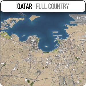 3D qatar - model