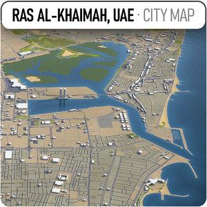 ras al-khaimah surrounding - model