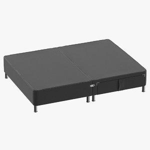 3D bed base 06 model