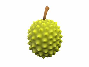 durian cartoon model