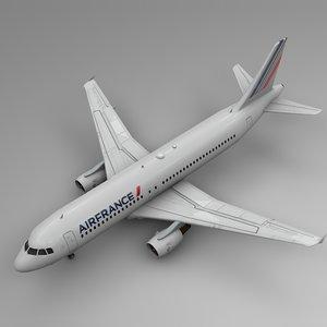 air france airbus a320 model