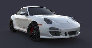 porsche 911 carrera gts 3D