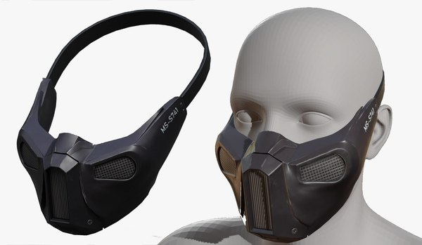 3D model fashion mask