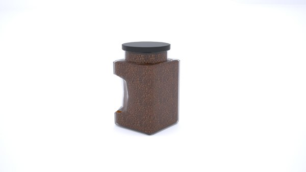 coffee jar 3D model