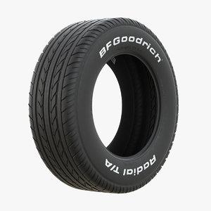 bfgoodrich wheel 3D