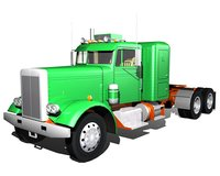 Old Semi Truck