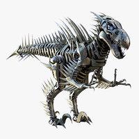 Velociraptor Mech Robot