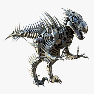 raptor mech robot model