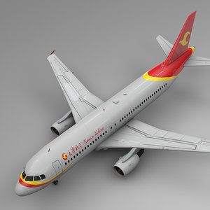 tianjin airlines airbus a320 model