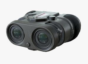 pbr binocular sci-fi lod model