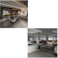 showroom 3 car 4 3D