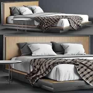 envy king bed 3D
