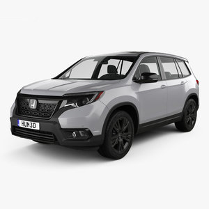 3D honda passport sport model