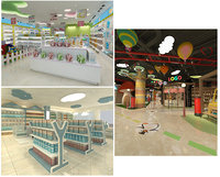 s shopping mall mother 3D