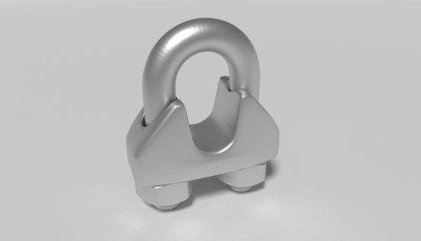 3D u clamp