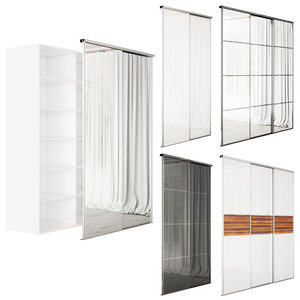 3D systems sliding wardrobes