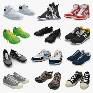sneakers 7 3D model