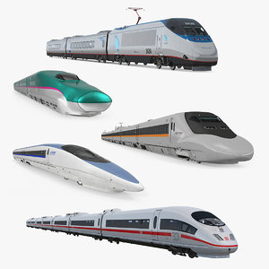 3D speed trains 3