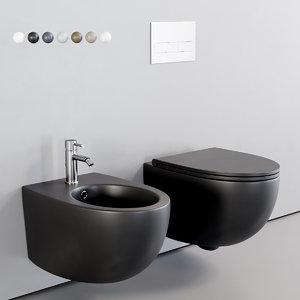 toilet bull wall-hung model