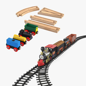 toy trains model
