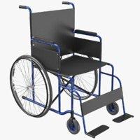 wheel chair 03 3D model