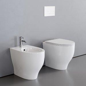 toilet fox bidet 3D model