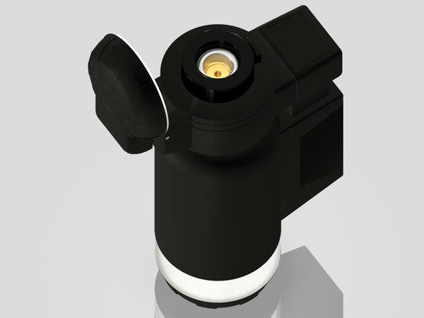 - lighter 3D model