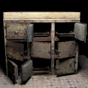 worn morgue 3D model
