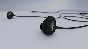 3D earphone sony ear