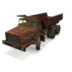 3D soviet truck transportation