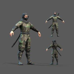 3D pbr ninja