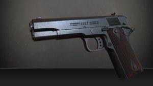 ready weapon 3D model