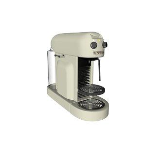 3D nespresso
