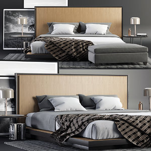 3D model envy king bed