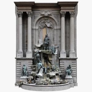 3D matthias fountain