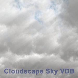 cloudscape sky 01 vdb 3D model