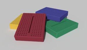 3D mini proto board model