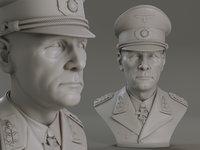 Erwin Rommel Bust