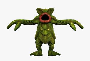 radiation plants monster 3D