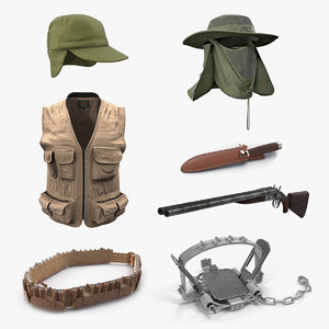 hunting equipment 3 3D