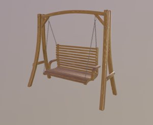 swing chair 3D