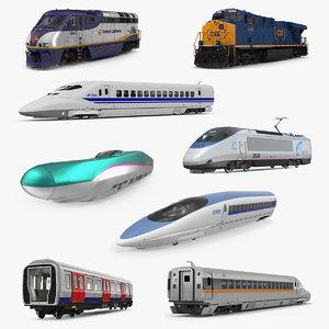 3D locomotives diesel electric