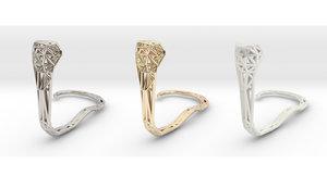 3D cobra snakes model